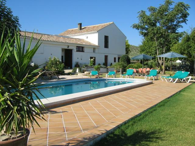 Pool,  Cortijo and Garden