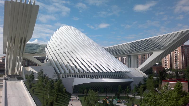 Congrespaleis van Oviedo- Calatrava