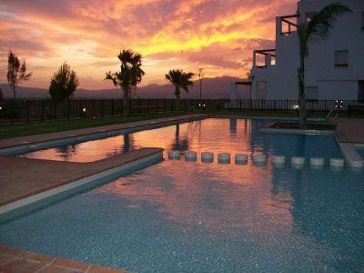 Sunset view at Condado de Alhama