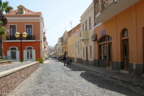 centre ville de Praia, capitale