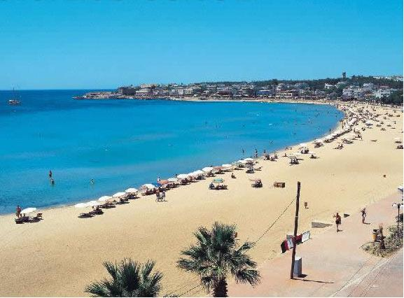 main beach is just 50 meters away..