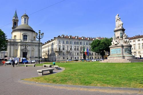 Palazzo della Residenza Cavour, Piazza Carlo Emanuele II