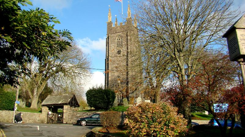 St Andrews church and square Stratton