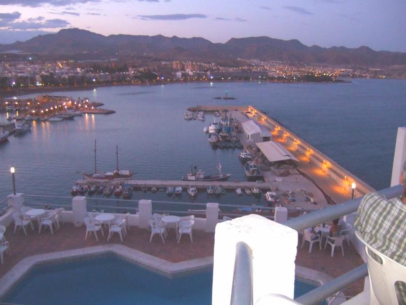 Coucher de soleil sur Puerto de Mazarron