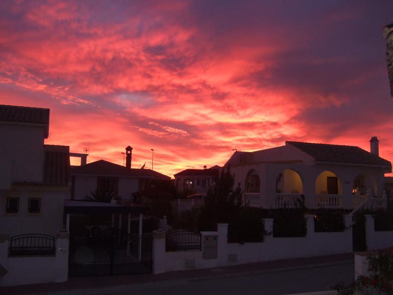 Dramatic sunsets