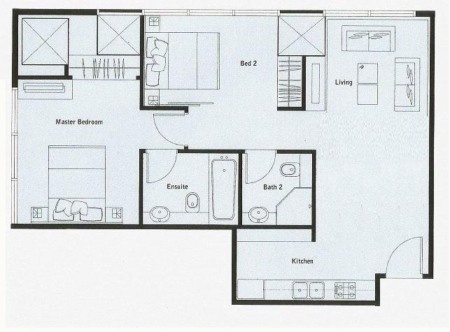 70 Appartement MSQ Disposition sur le sol 26