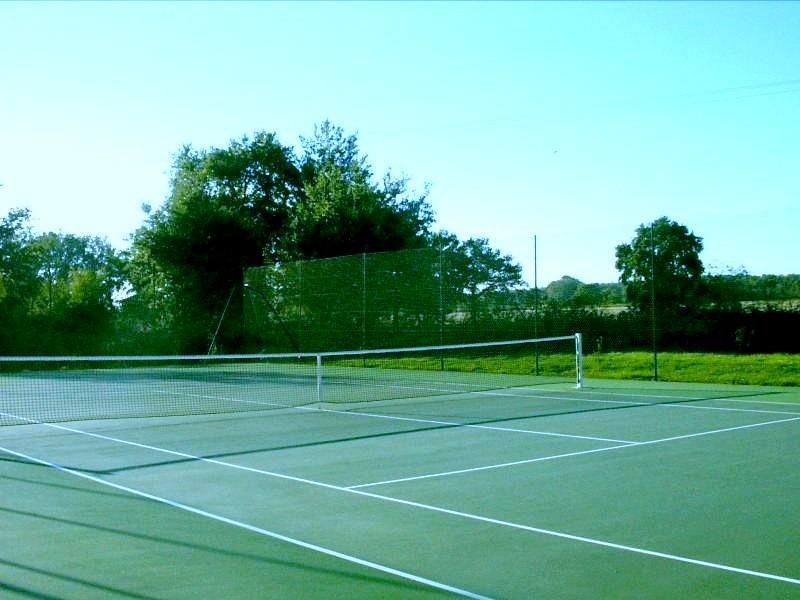 Cour de Tennis en acrylique