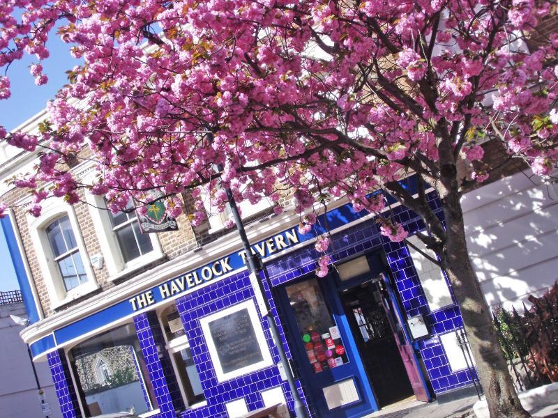 O famoso gastro pub The Tavern Havelock é fácil uma curta distância