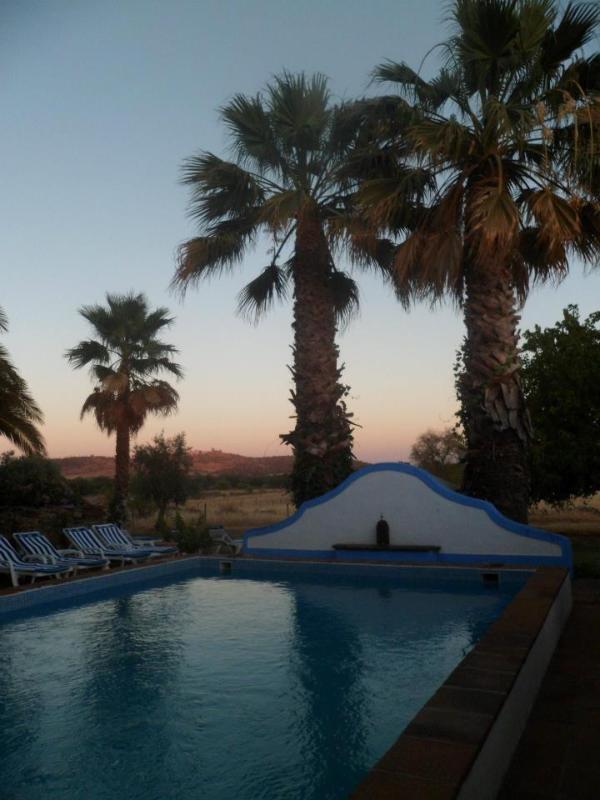 Pool view to Monsaraz