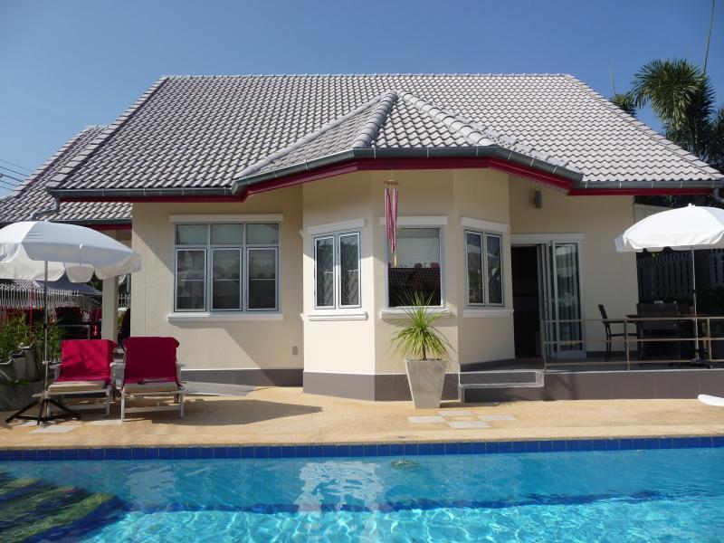 Pool Villa Si Daeng, rollstuhlgängig.