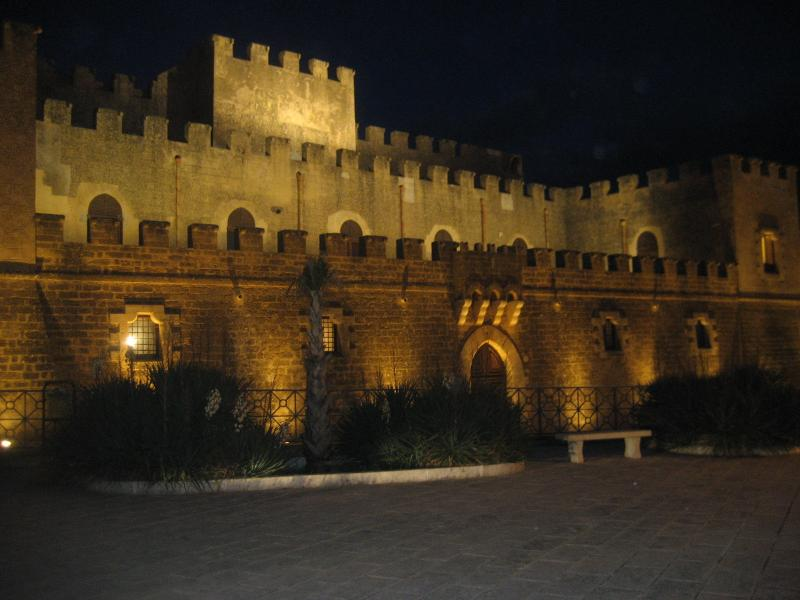 the medieval castle in Partanna