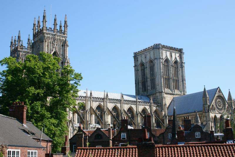 The Minster from our piazza