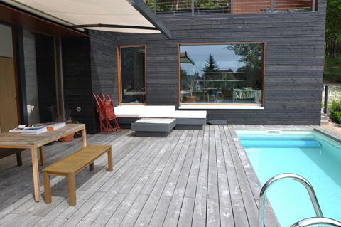 You can use our solar-heated swimming pool