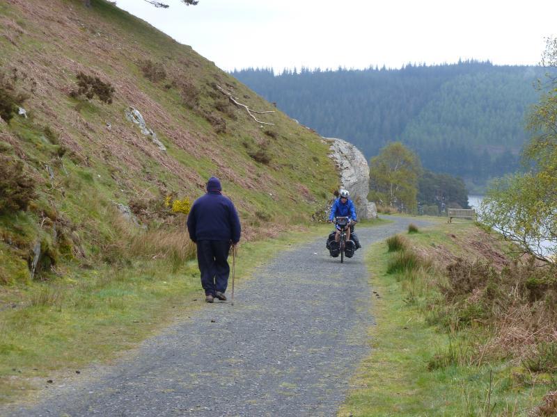 Craig Goch Reservoir Cycle path