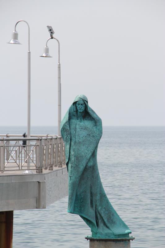 Camaiore - a 45 minute drive fron the Castello -Statue of the Patron Saint of Seafarers