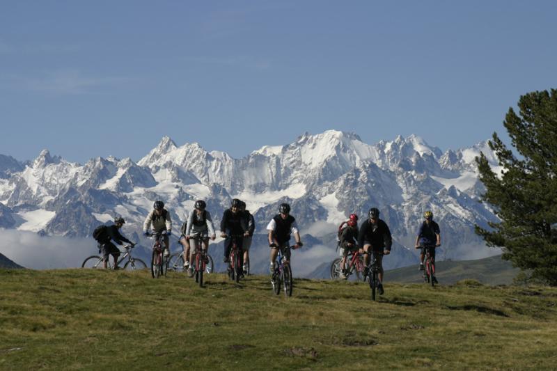 Mountainbiken in 4 Vallées