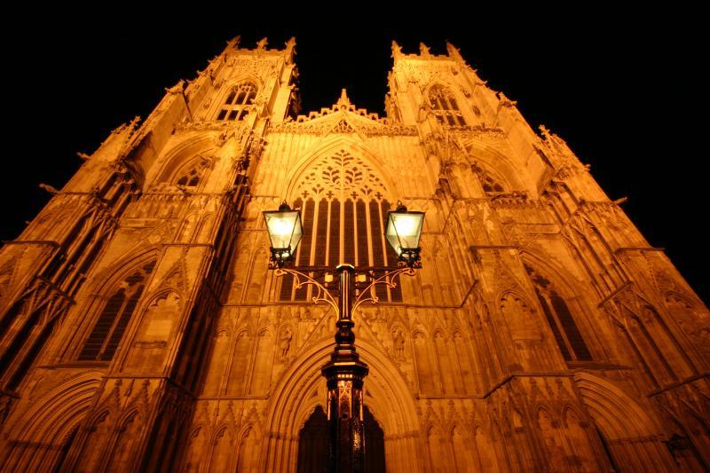 York Minster nachts - (15 minuten lopen van het appartement)