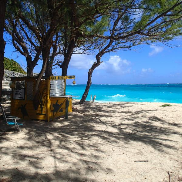 Several stunning beaches in walking distance of the villa