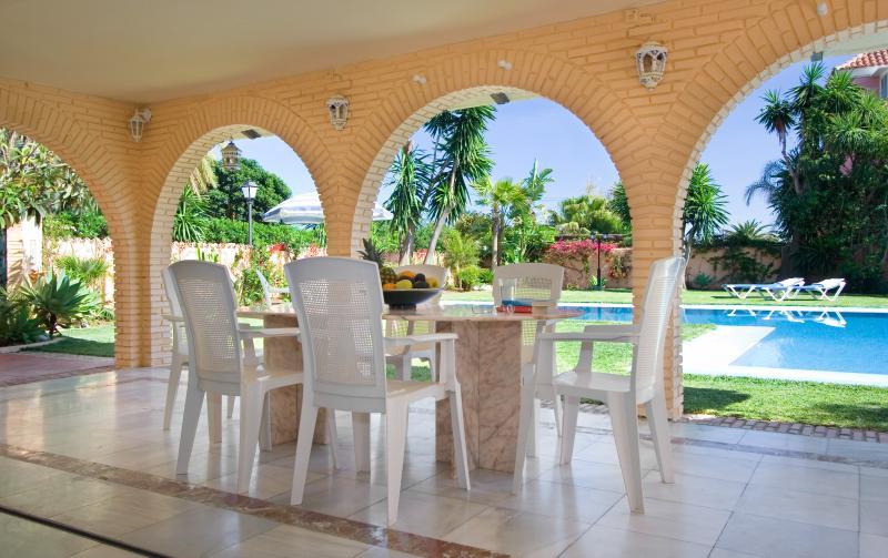 La Villa El Messidor con terraza