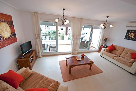 Large,spacious lounge overlooking pools