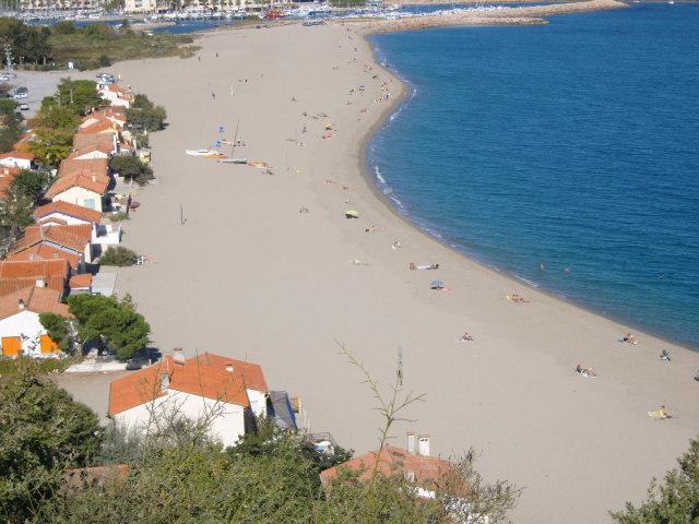 la plage du Racou (Argelès Sud)