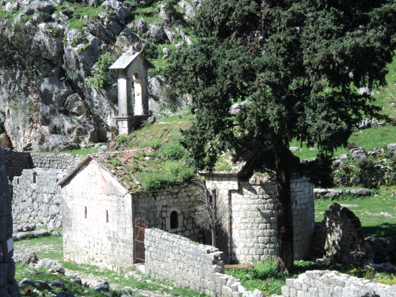 Little church above Kotor Old Town