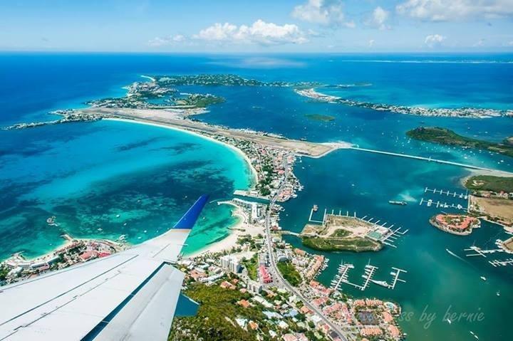 Vista de Sint Maarten