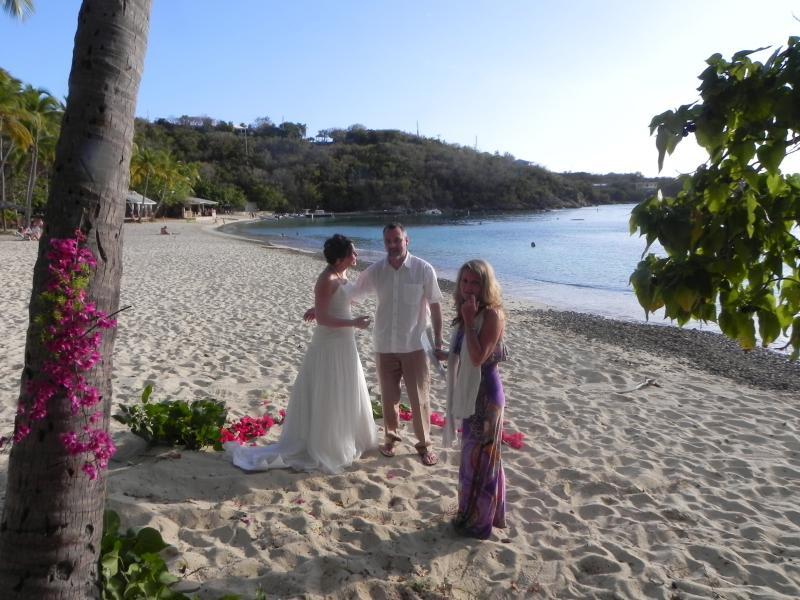 We can arrange weddings on Honeymoon Beach