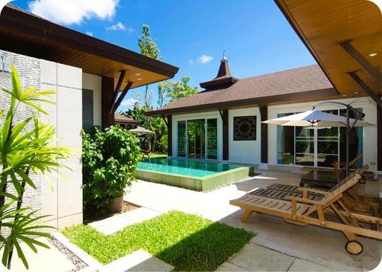Villa com piscina maravilhosa privada 3 quarto