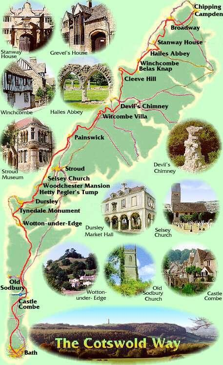 Stroud, at the Heart of the Five Valleys - The Cotswold Way passes nearby.  London 90 mins by Rail.