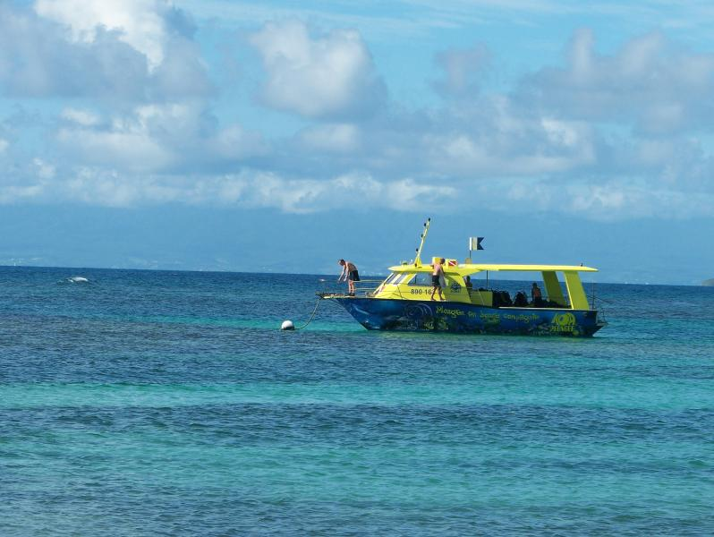 bateau bapteme de plongee a la residence