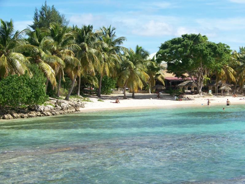 vue de la plage privative