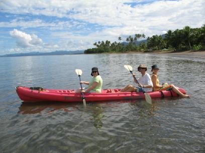 Uso ilimitado de nuestra doble Kayak de mar