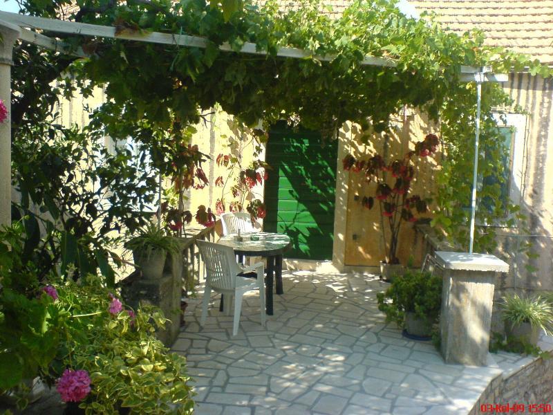 Dalmatian style stone house * * *, vacation rental in Lumbarda