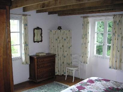 The main double bedroom