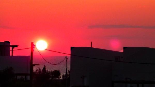 Sunrise at Villa Lindian Sun