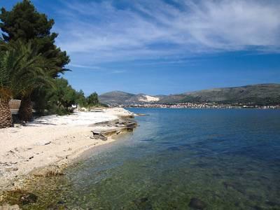 one of Ciovo beaches