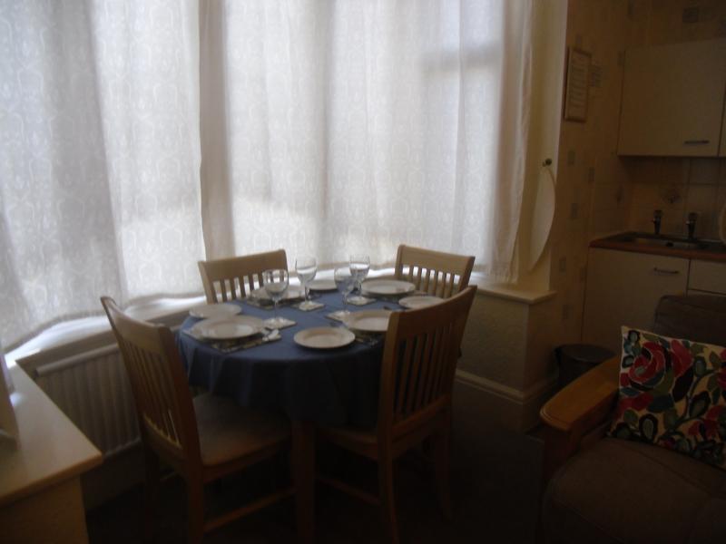 Garden Flat, Dining Area of Living Room