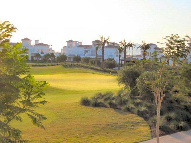 view onto the Golf course from Casa Maggiori