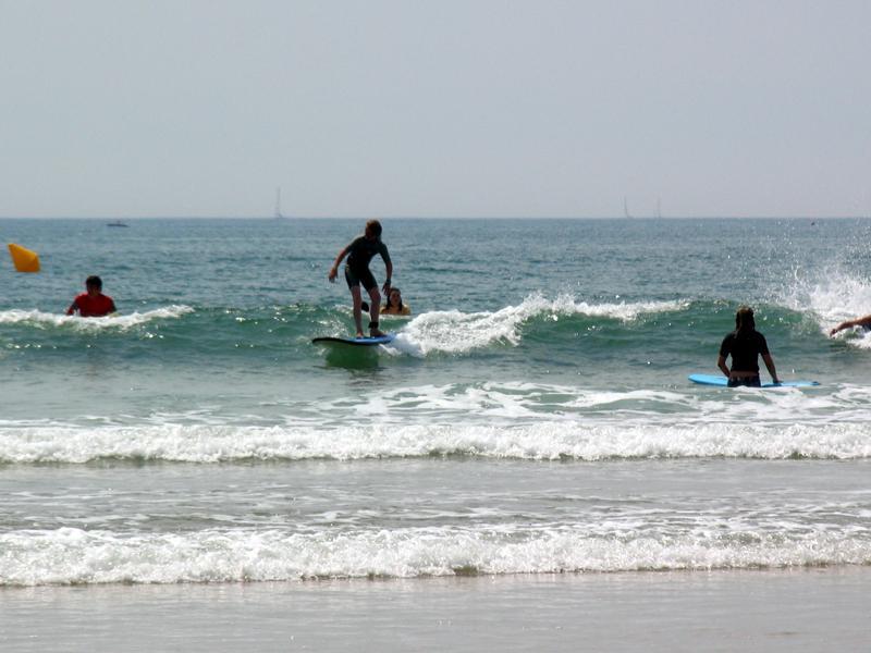 Surfen op Les Sables-d'Olonne