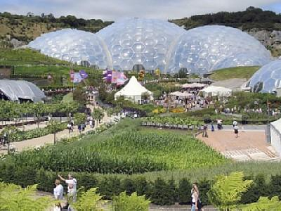 Atlantic Gold Lodge. Eden Project - eine globale Touristenattraktion!
