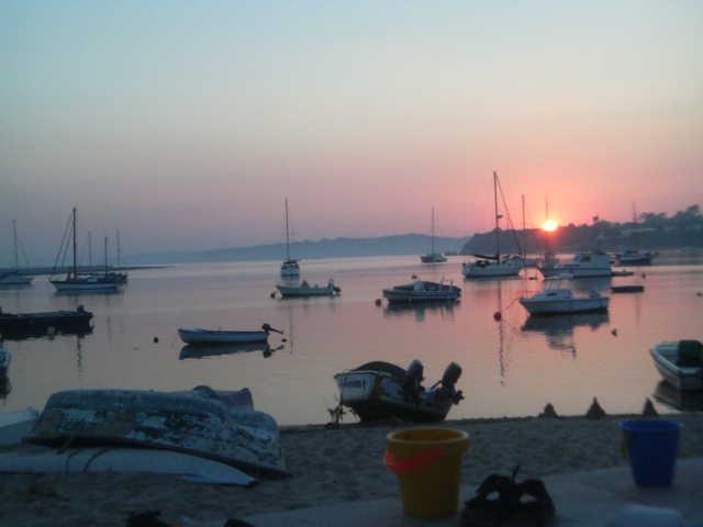 Sunset Alvor Harbour