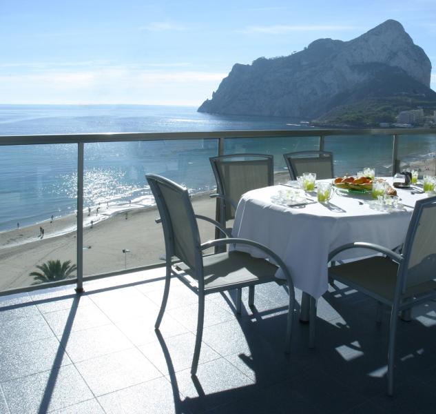 Breakfast on the terrace!