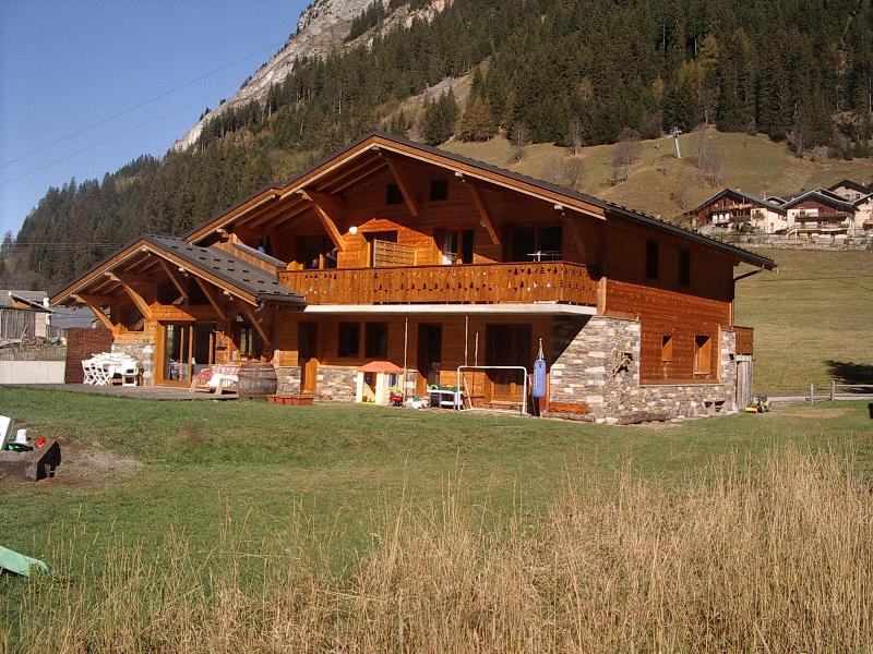 view of the chalet in summer