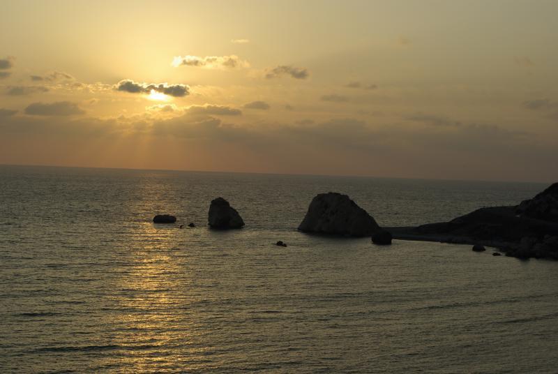 Hay mucho que ver en Chipre, incluyendo Afroditas Rock, a solo 5 minutos de Afrodita Hills