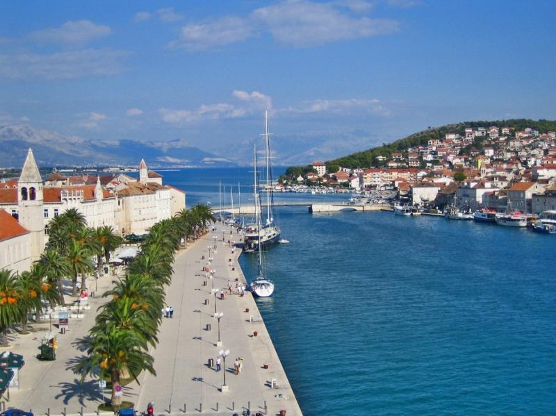 Ciovo verbonden met Trogir