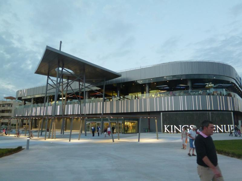 Kings Avenue Mall for shopping, eating, entertainment or just a coffee