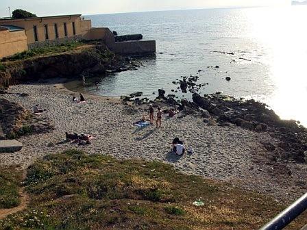 El Tro' beach-het dichtstbijzijnde strand Il Nido