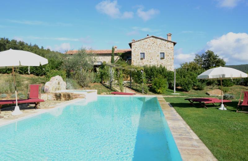 Farmholiday La Grencaia near Pienza  Montepulciano, holiday rental in La Foce