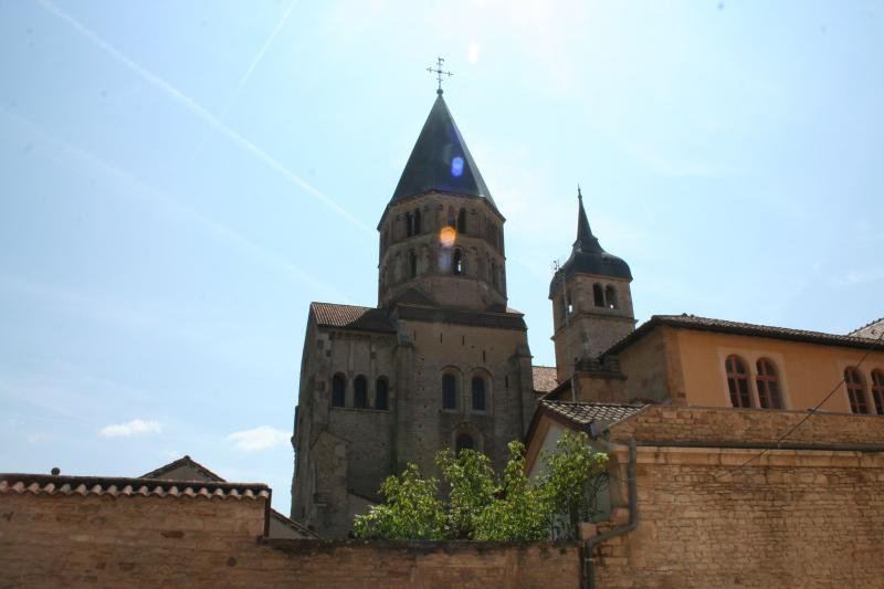 The Abbey town of Cluny